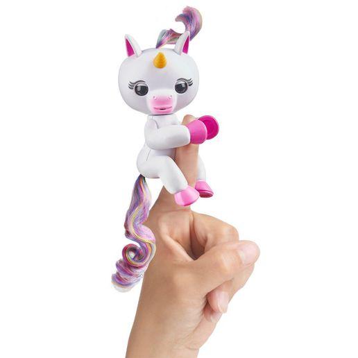 Juguete Fingerlings Baby Unicorn Blanco