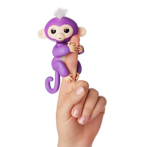 Juguete Fingerlings Monkey Morado