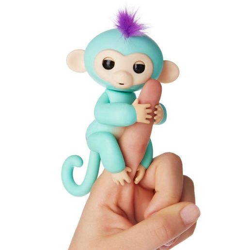 Juguete Fingerlings Monkey Celeste