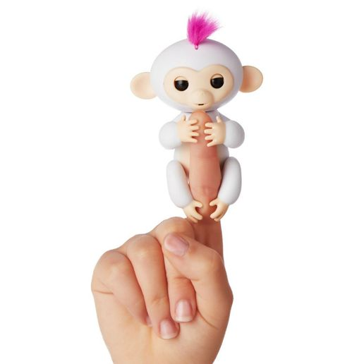Juguete Fingerlings Monkey Blanco