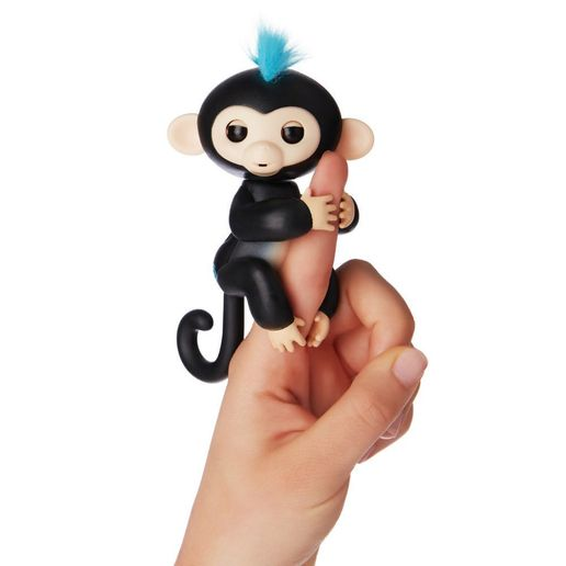 Juguete Fingerlings Monkey Negro