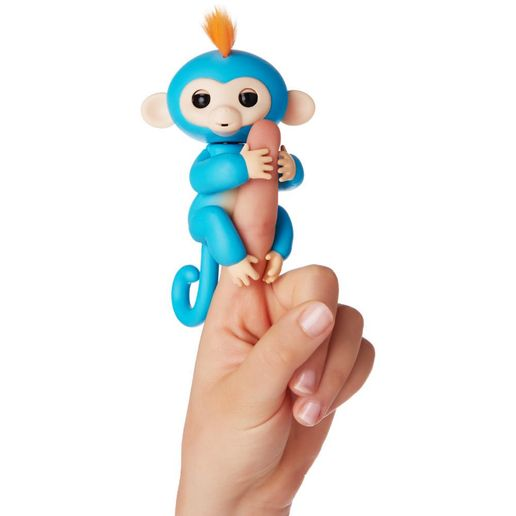 Juguete Fingerlings Monkey Turquesa