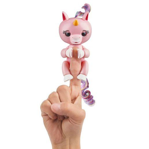 Juguete Fingerlings Baby Unicorn Rosado