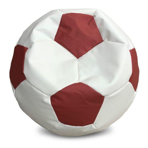 Puff Balon Futbol Blanco - Rojo-1236333-1