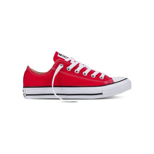5759fdc024acf Zapatillas Urbanas Mujer Chuck Taylor All Star Core Ox Rojo ...