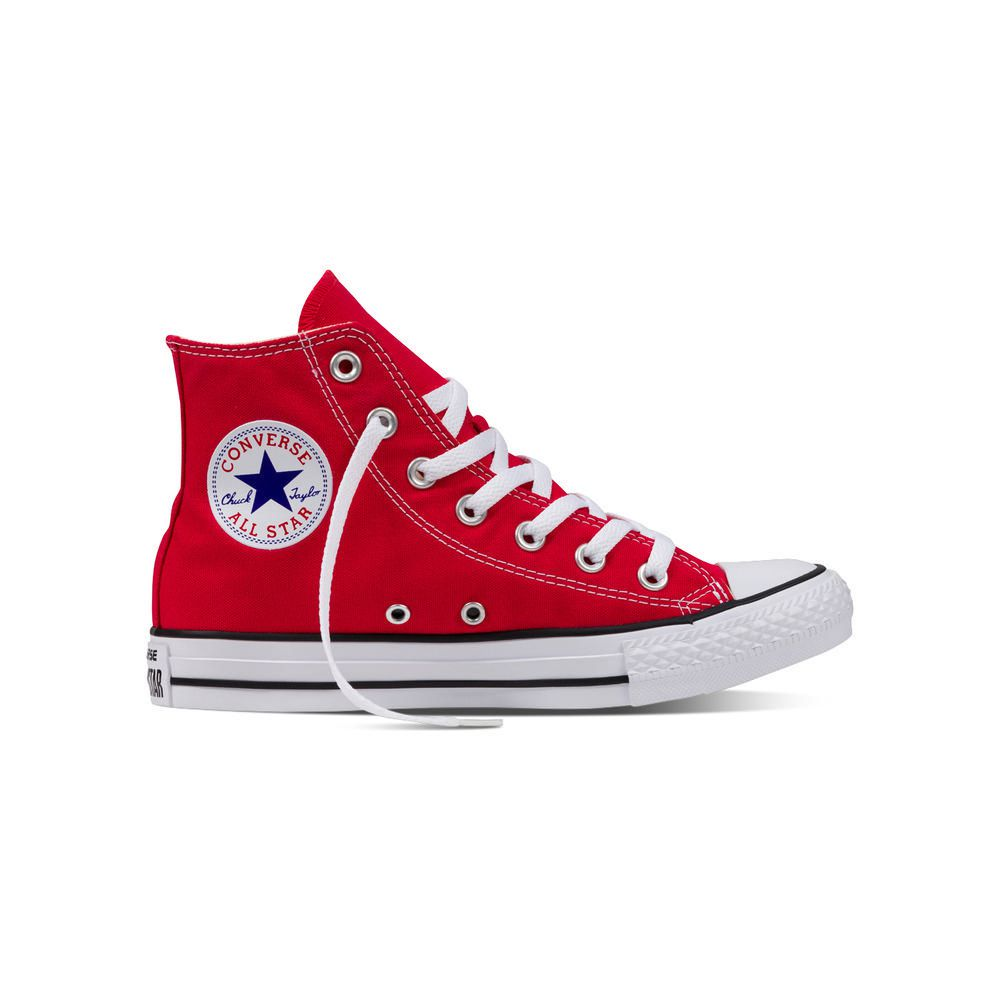 1fa0aa2e905 Zapatillas Urbanas Altas Hombre Chuck Taylor All Star Core Hi Rojo. SKU   166985. 166984. ALL. PRECIO CYBER