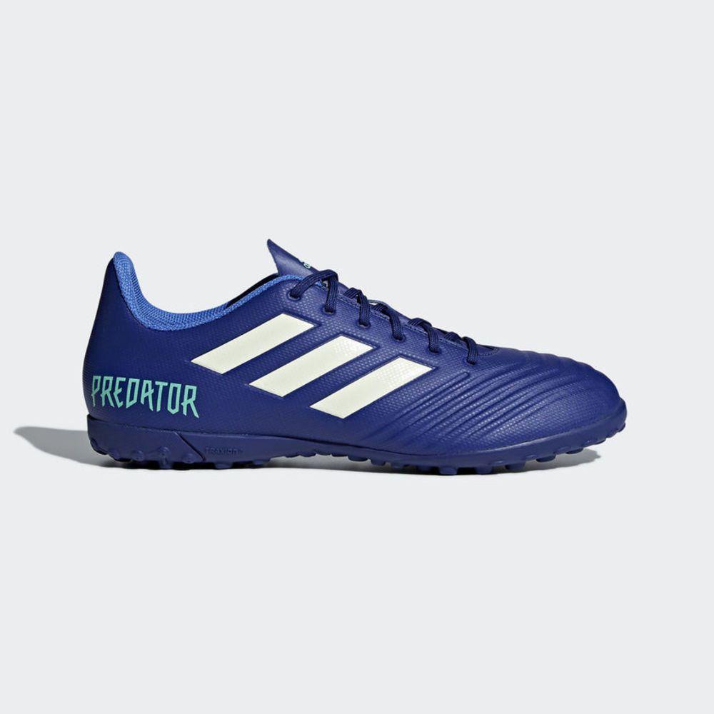 Zapatillas Fútbol Hombre Adidas Tango 18.4 TF Azul  e30f95f0e4dc5