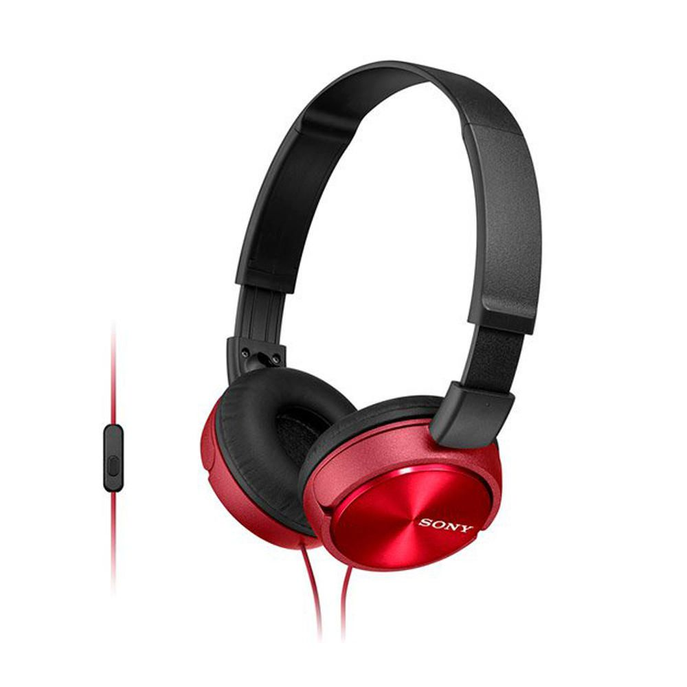 Audífonos Plegables Rojo MDRZX310APRCUC