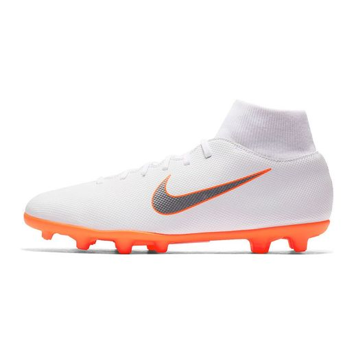 Zapatillas Fútbol Hombre Nike Superfly 6 Club MG Blanco