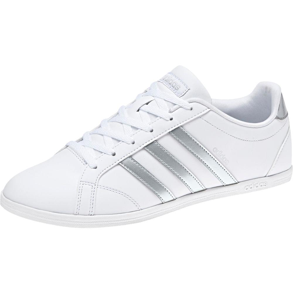 competitive price 45fc2 5b76e Zapatillas Urbanas Mujer Adidas VS CONEO QT Blanco   Oechsle - oechsle