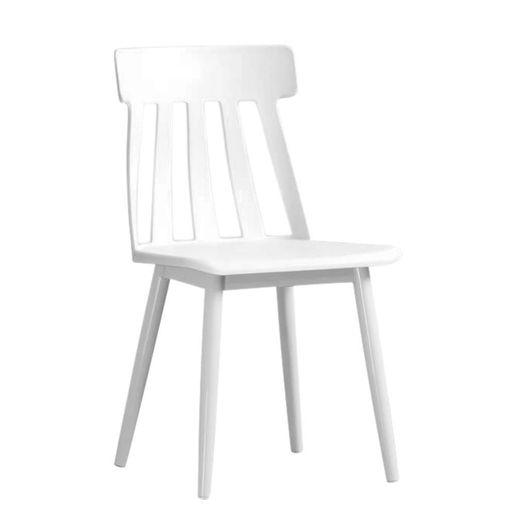 Silla Clasica Plastica Blanco-1218223-1