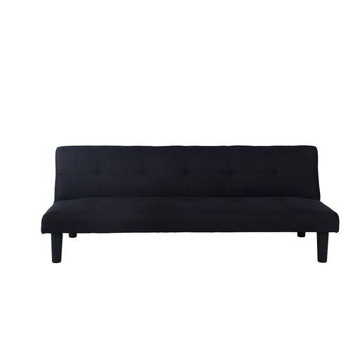 Sofa Cama en Tela Negro-1233346-2