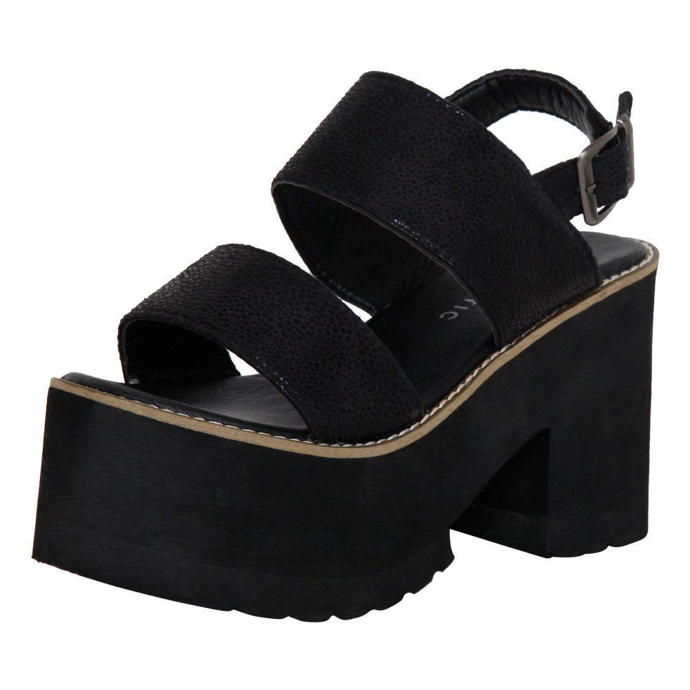 Sandalias Mujer Altatira Negro  c5b8287e0528