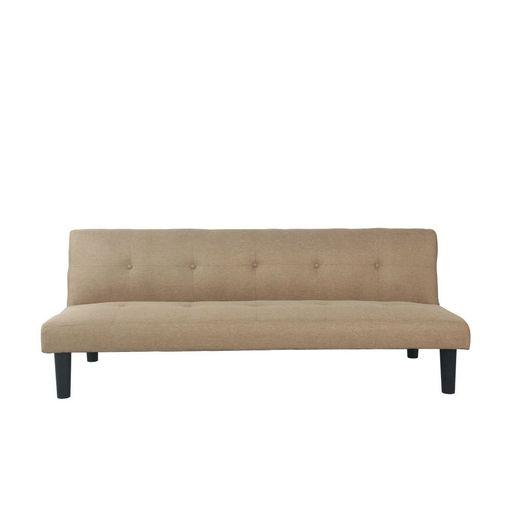 Sofa Cama en Tela Beige-1256205-1
