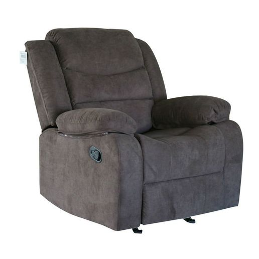 Reclinable en Tela Marron-1256204-1
