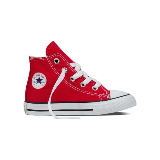 6d55c78893c0 Zapatillas Niño Chuck Taylor All Star Hi Rojo