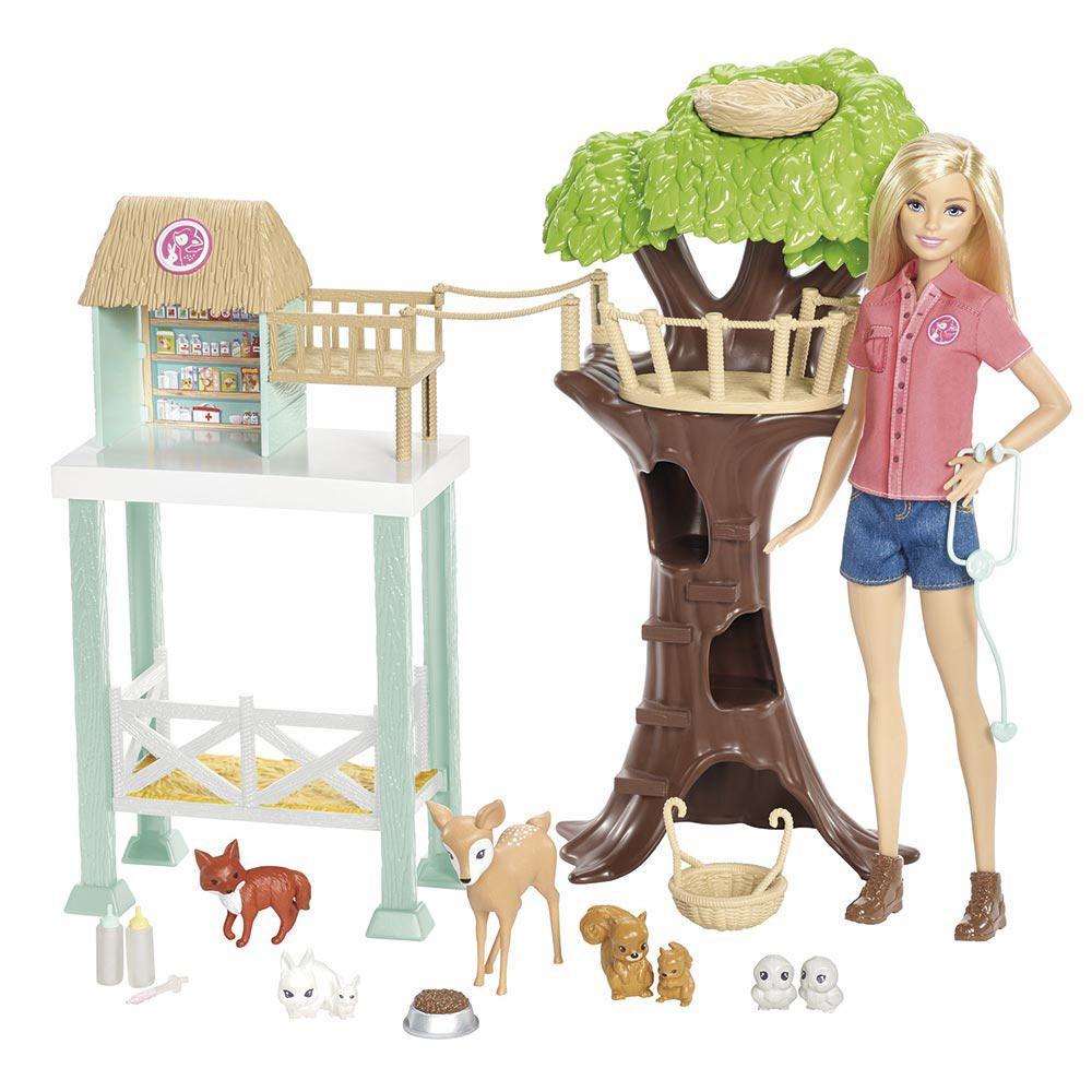 Barbie Rescate de Animalitos