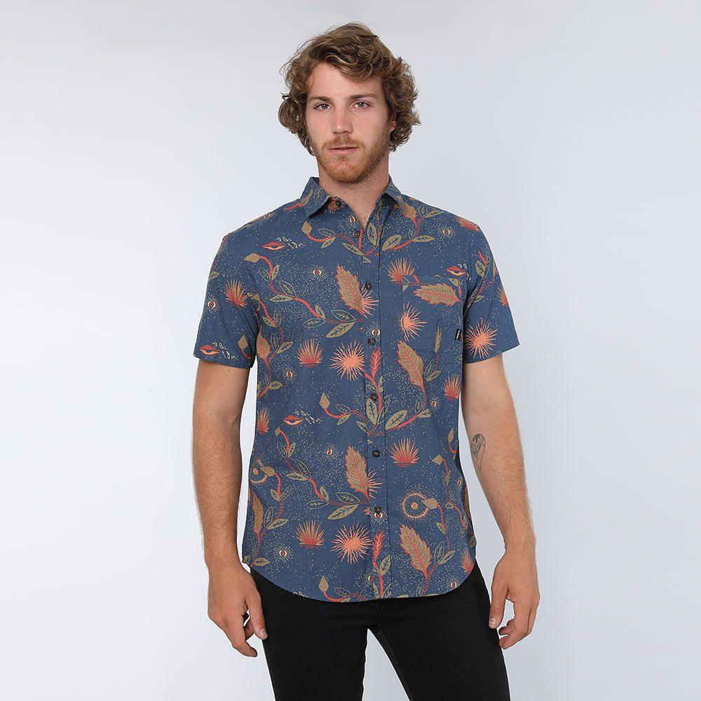 248c2cddbf Camisa Manga Corta con Estampado de Flores