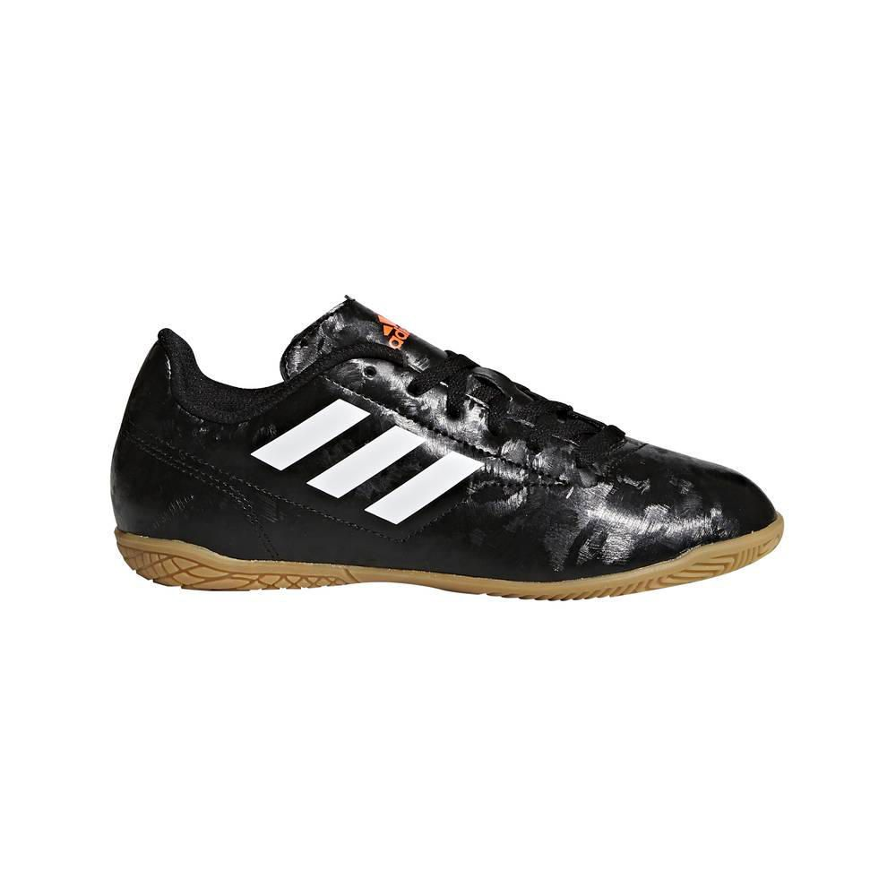 4063c4b985372 Zapatillas Fútbol Niño Conquisto II IN J Negro