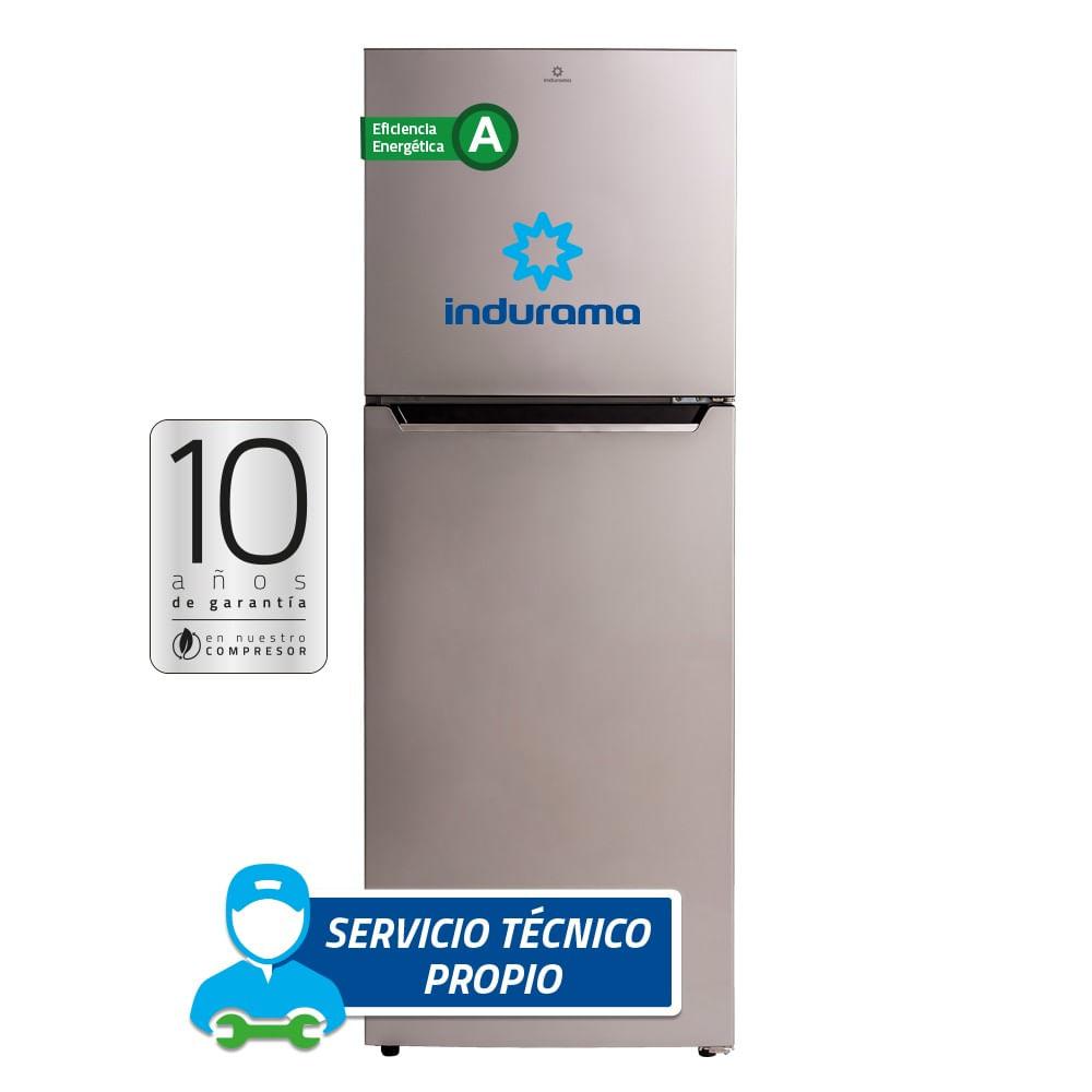 Refrigeradora RI-429 321L Cromo