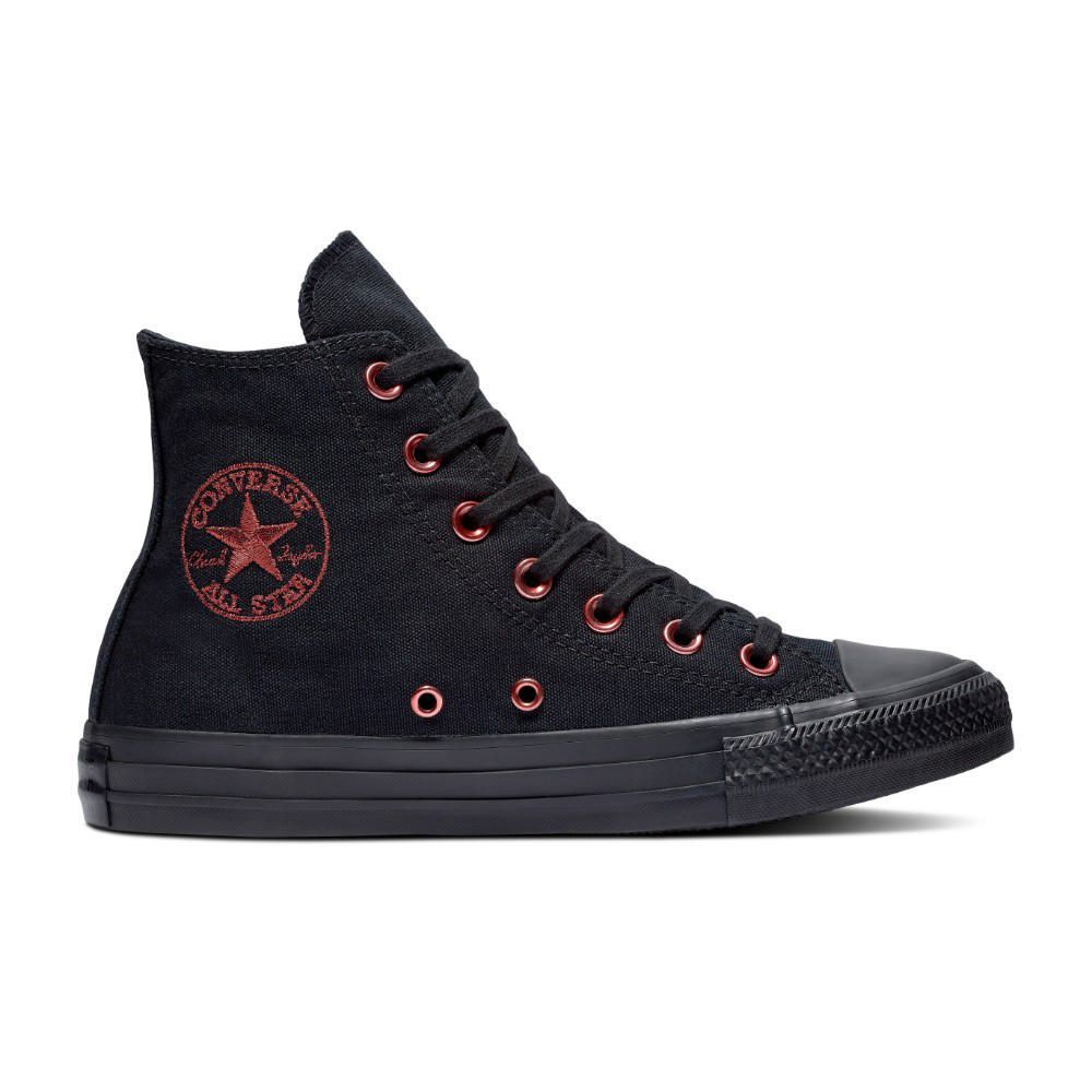 f6cbe6be0 Zapatillas Urbanas Converse Chuck Taylor All Star Hearts Hi Negro ...