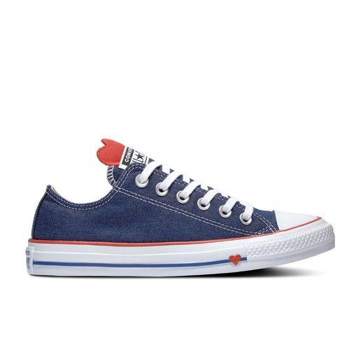 864424130f7 Zapatillas Urbanas Converse Chuck Taylor All Star Denim Love Azul ...