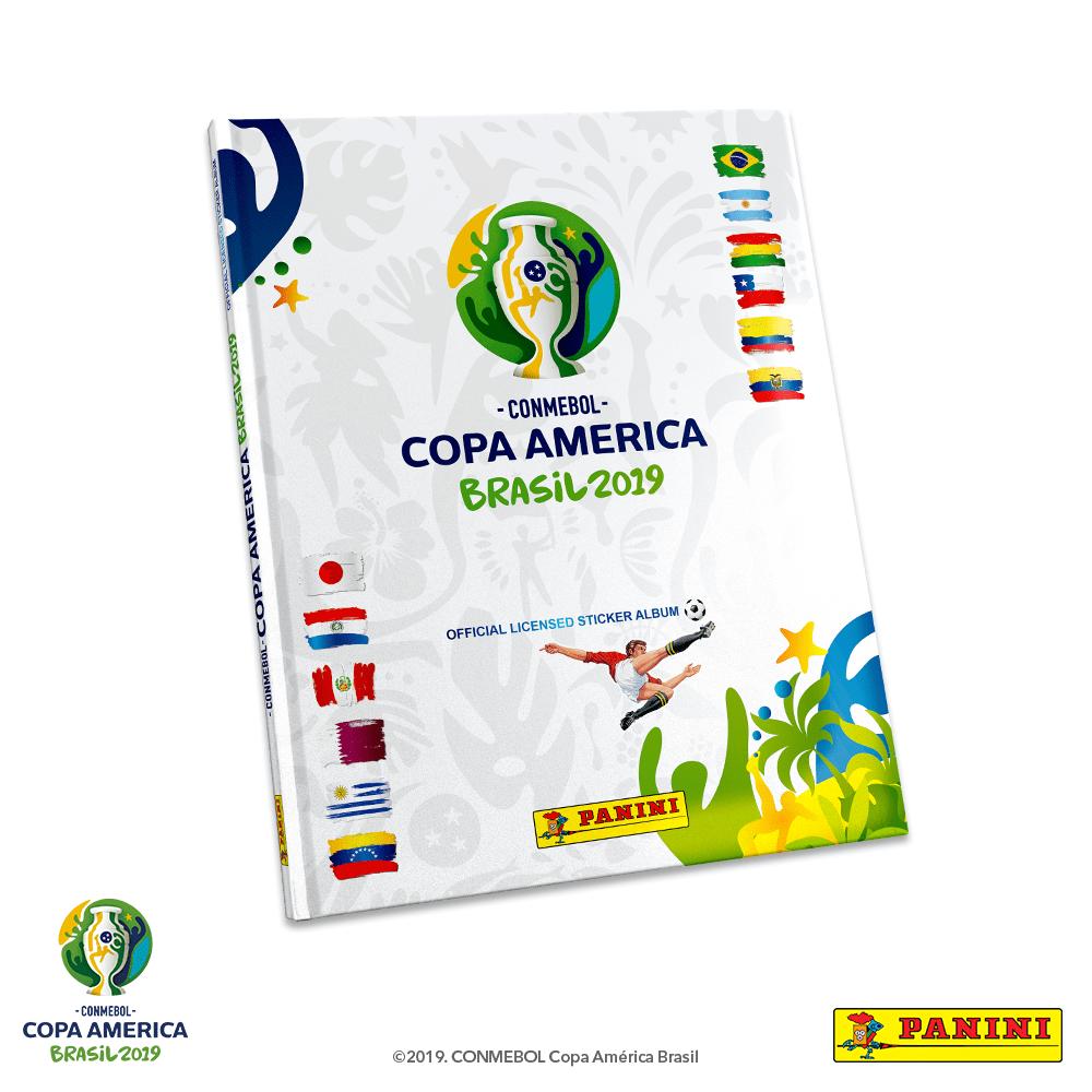 218074ad1 Álbum Tapa Dura Oficial CONMEBOL Copa América 2019 Edición Limitada ...