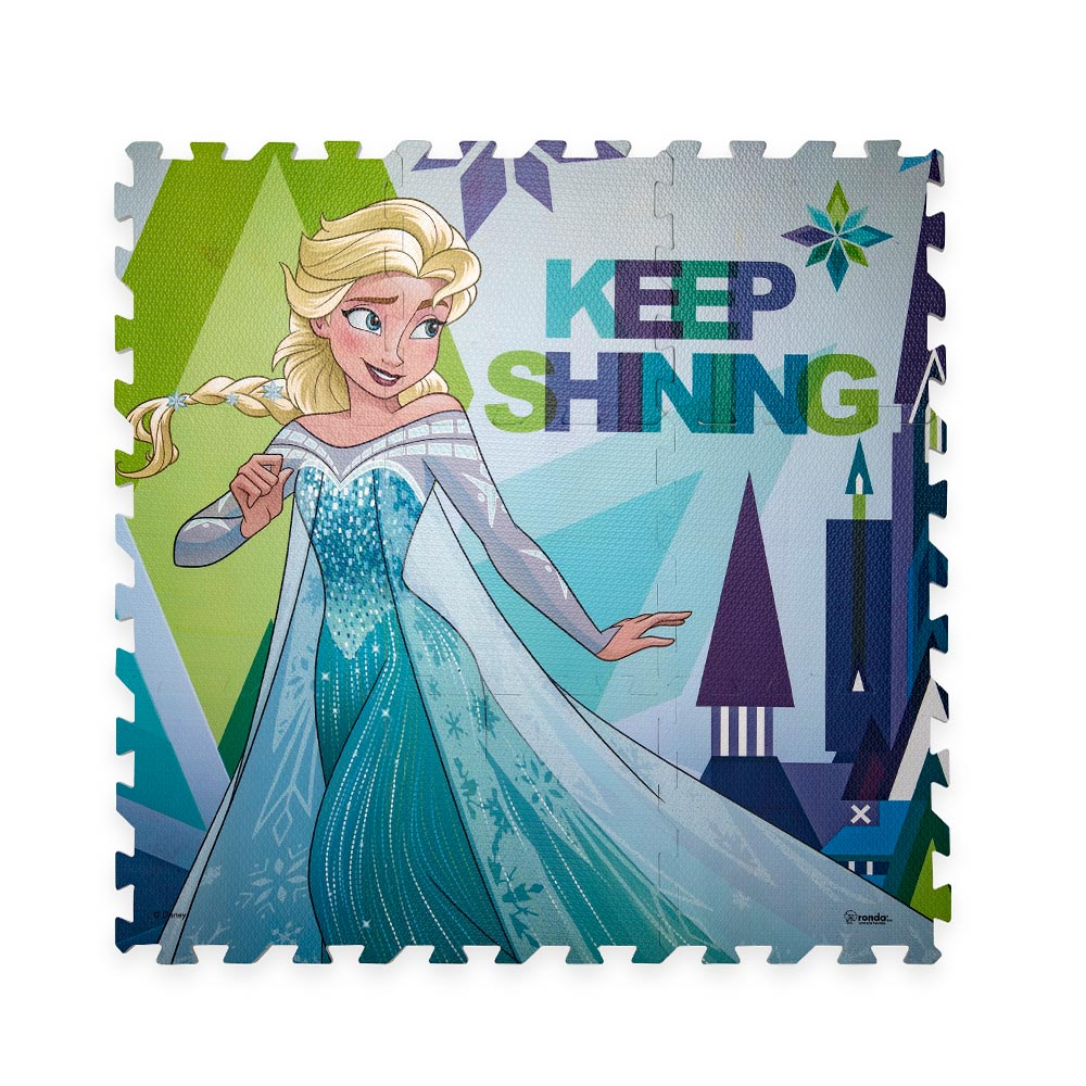 Tapete Mágico Frozen Elsa