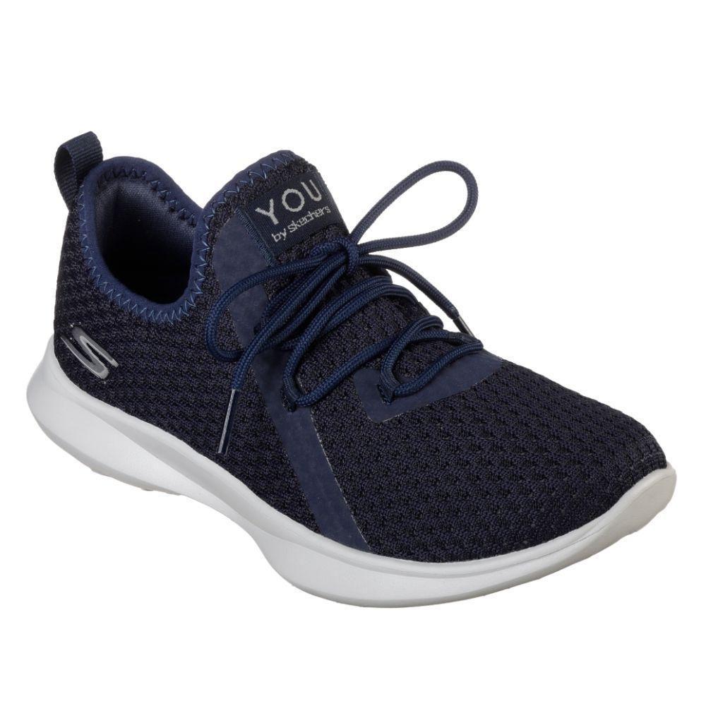 zapatillas skechers mujer azul