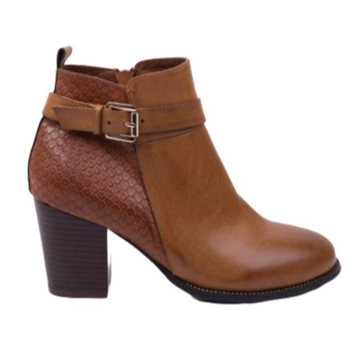 13d3ee7087 Botines Marie Claire Mujer Nelly 8609 Camel
