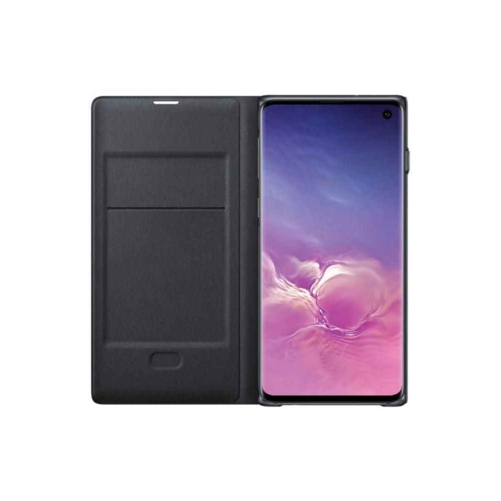 Protector Led View Cover Galaxy S10 Negro