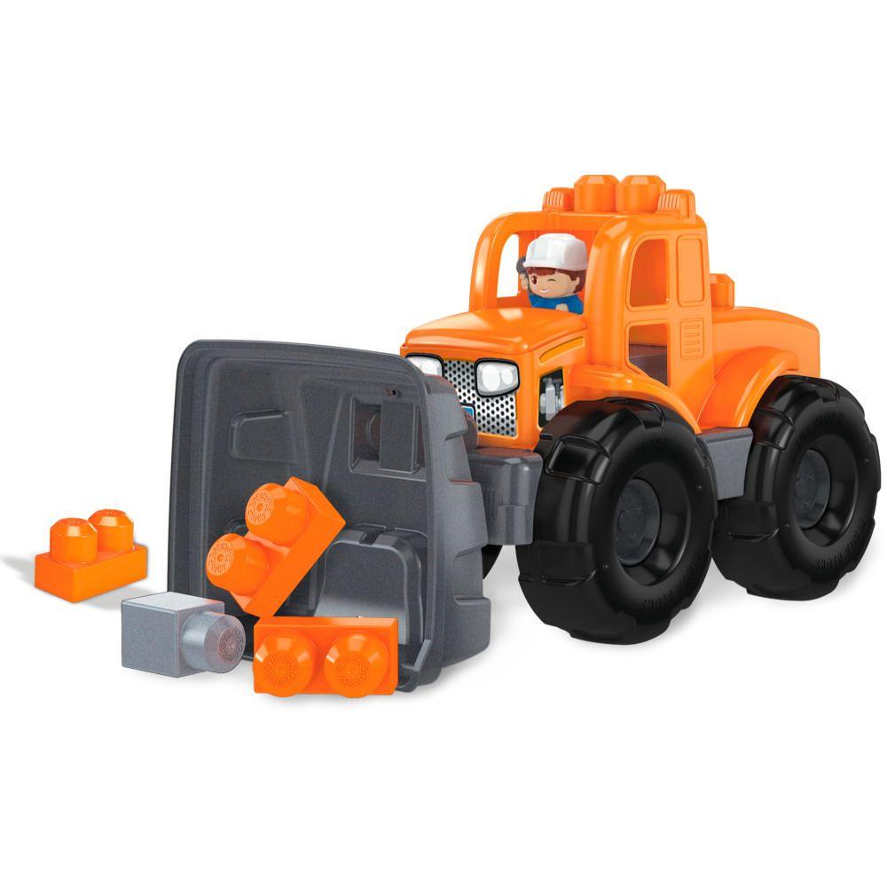 Mega Blocks Camión De Volteo Tranformable Naranja