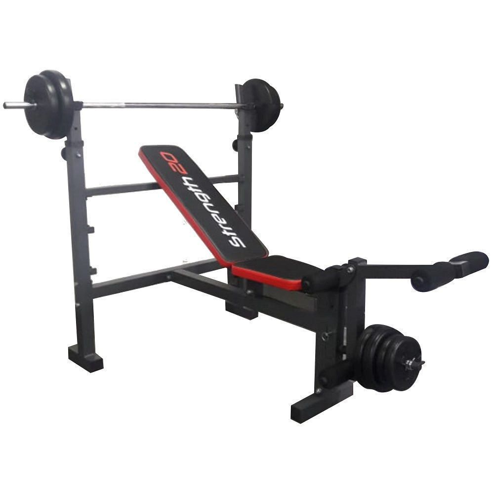 Combo Weight Bench Muvo Gris