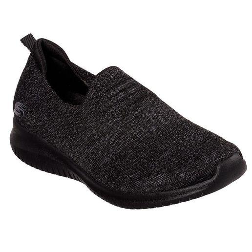 4220b052ccc Zapatillas Urbanas Skechers Mujer 13106-BBK Ultra Flex Negro