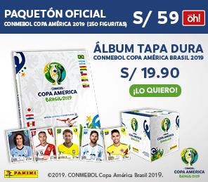 Álbum y Paquetón Copa América